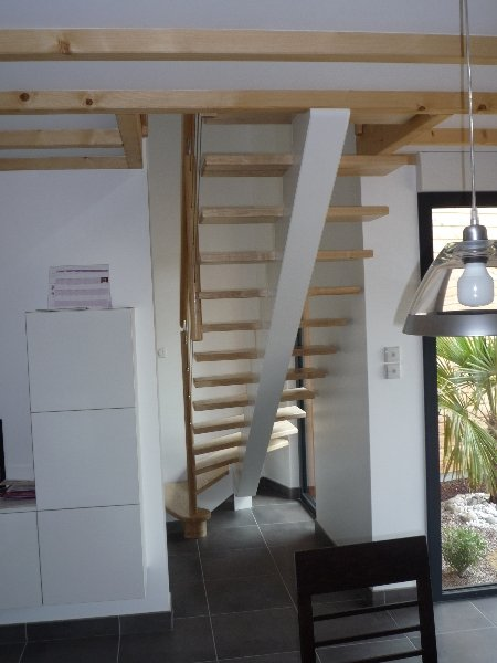 Escalier Bois Peint