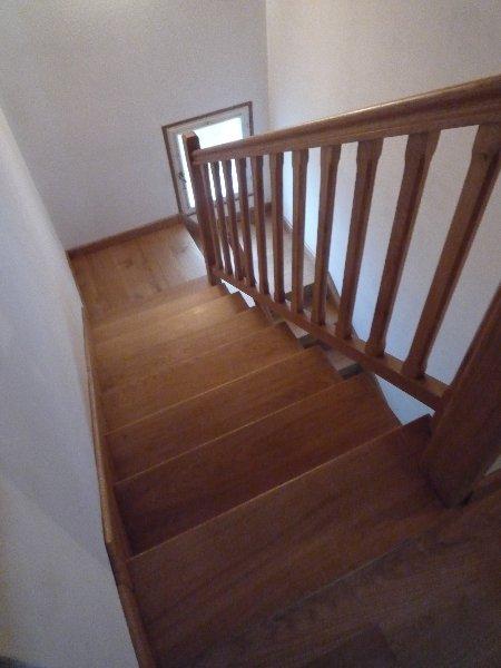 escalier tout bois menuiserie raguet blain escaliers lambris parquet bardage. Black Bedroom Furniture Sets. Home Design Ideas