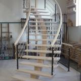 escalier-lamelle-colle-rampe-bois-inox